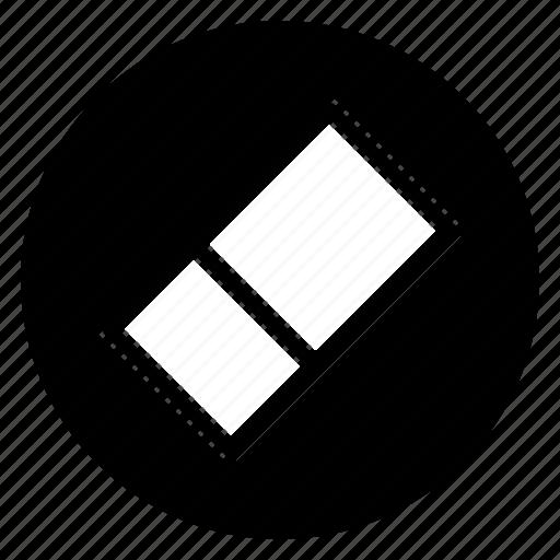 clean, erase, round icon