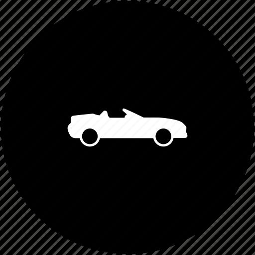 auto, automobile, body, cabrio, car icon