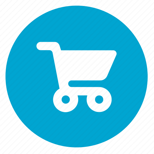 basket, buy, cart, ecommerce, round, shop, shopping icon