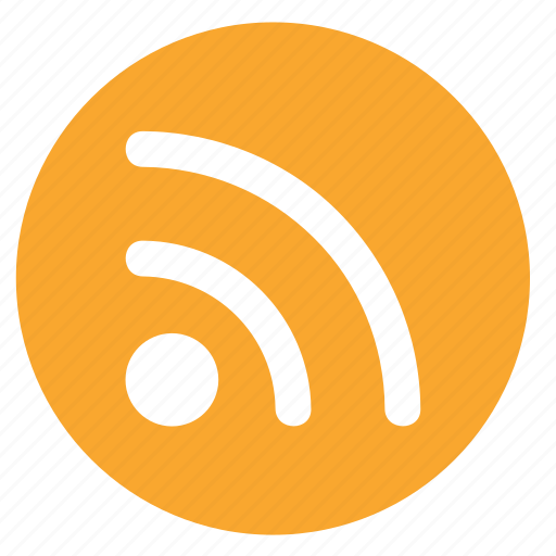 feed, news, round, rss, social, subscribe icon