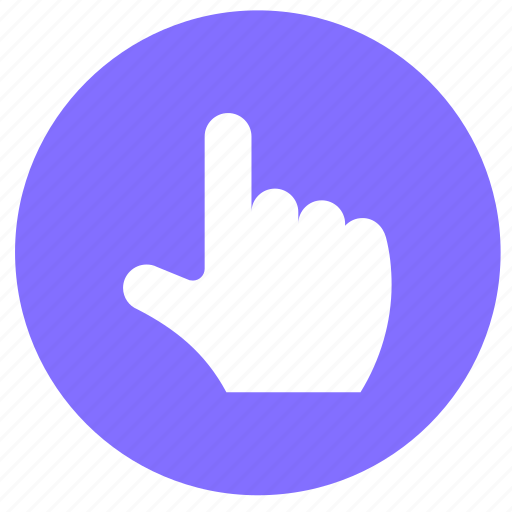 finger, fingers, gesture, hand, round, touch, up icon