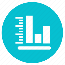 bar, chart, diagram, graph, report, round, statistics icon