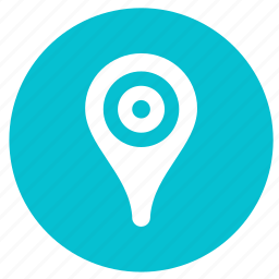 direction, gps, location, map, navigate, navigation, round icon