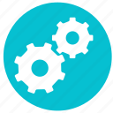 configuration, gear, options, preferences, round, settings, tools icon