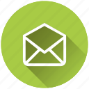 envelope, mail, message, read icon