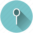 cutlery, kitchen, scan, spoon icon