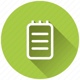 article, document, notepad, notes icon