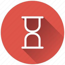 clock, hourglass, sandclock, time management icon