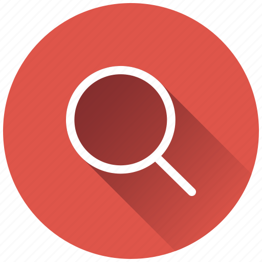 find, magnify, search, view icon