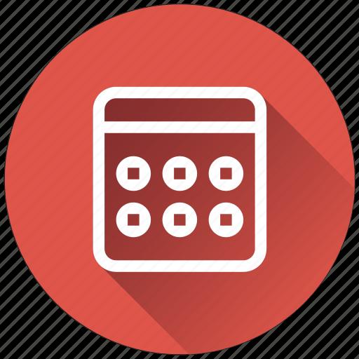 accounting, calculate, calculator, math icon
