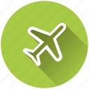 airplane, flight mode icon