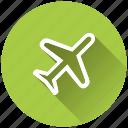 airplane, flight mode icon