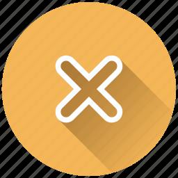 close, cross icon