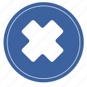 bad, hospital, rounded, cross, social icon