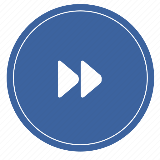audio, forward, media, music, player, sound icon