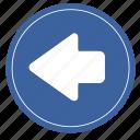 left, right, previous icon