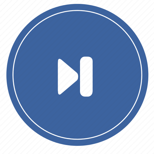 audio, media, music, next, right icon