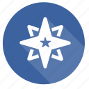 badge, medal, rating, star, ster icon