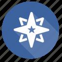 star, badge, medal, rating