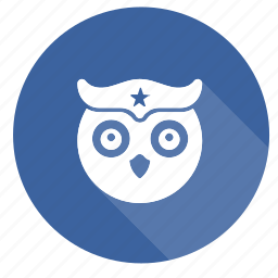 book, education, knowledge, owl, study, uil icon