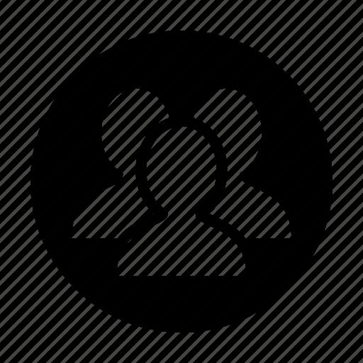 chat, conversation, friends, group, groupfriend, profile, talk icon
