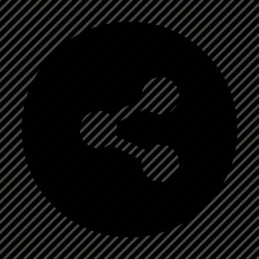 distribute, forward, link, send, share icon