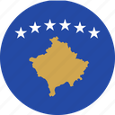 flag, kosovo, serbia icon