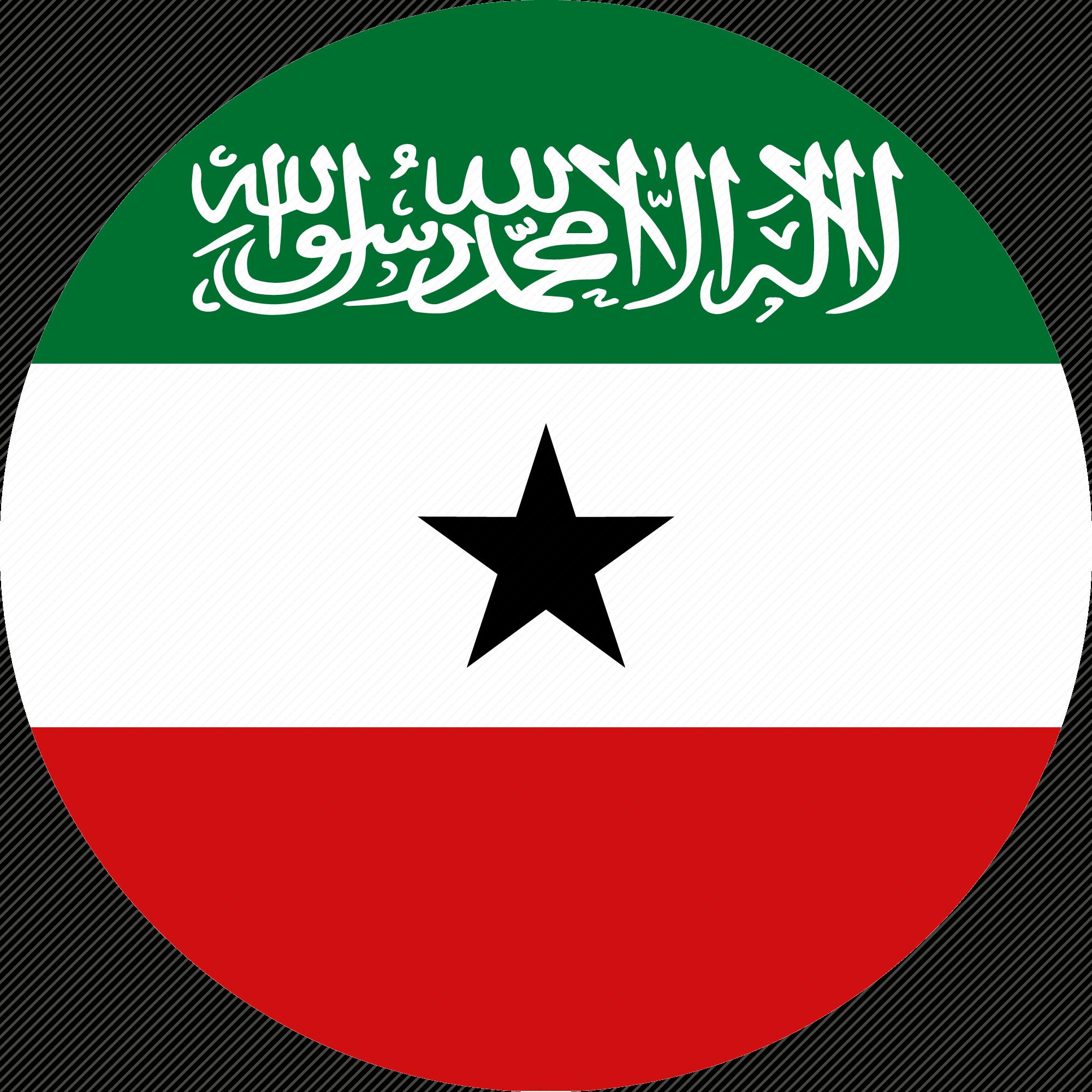flag, somalia, somaliland icon