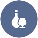 alcohol, bocal, cognac, drink, wine icon
