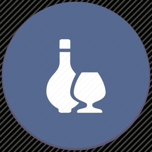alcohol, bocal, cognac, drink, wine icon