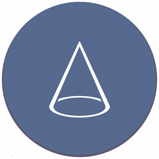 complex, cone, figure, geometry, object icon