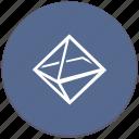 geometry, octahedron, complex, figure