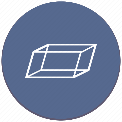complex, figure, geometry, object, parallelepiped icon