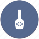 bottle, cognac, drink, shampagne icon