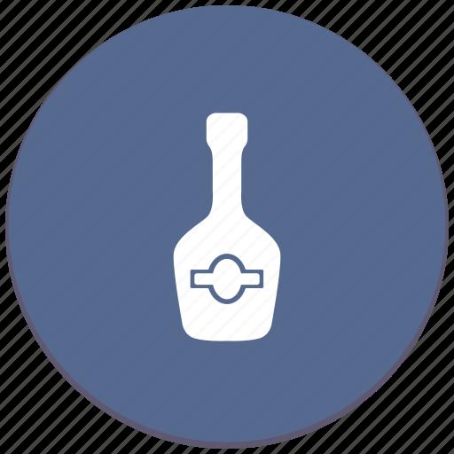 bottle, cognac, drink, shampagne icon