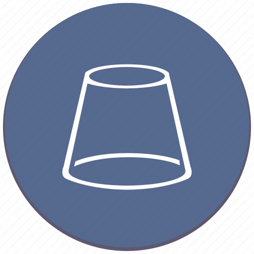 complex, cone, figure, geometry, object, truncated icon