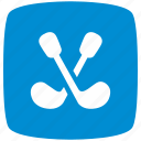 blue, golf, pointer icon