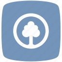 blue, cold, park, pointer icon