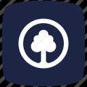blue, deep, park, pointer icon