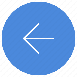 arrow, direction, gps, left, location, navigation icon