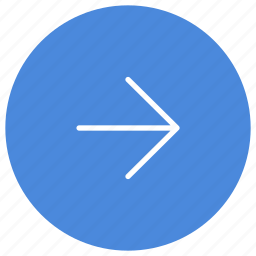 arrow, direction, gps, location, navigation, right icon