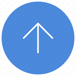 arrow, direction, gps, location, navigation, up icon