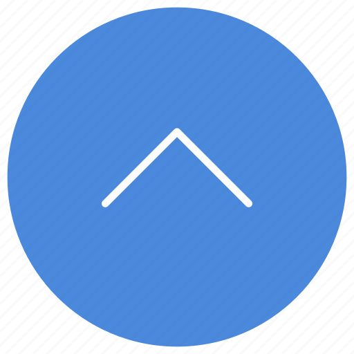 arrow, direction, expand, gps, location, navigation, up icon
