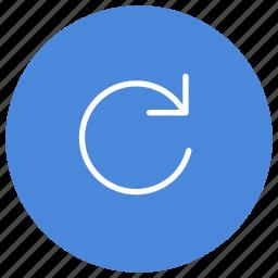 f5, refresh, rotate, sync, synchronize, web page icon