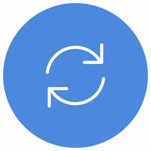 Sync, synchronize, update, f5, rotate icon - Download on Iconfinder