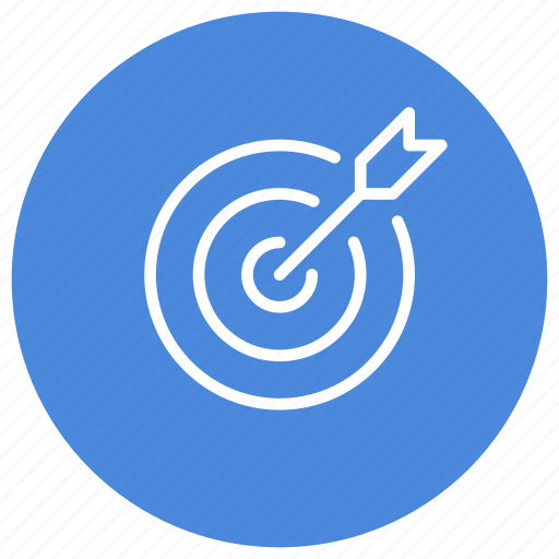 arrow, efficiency, objective, target icon
