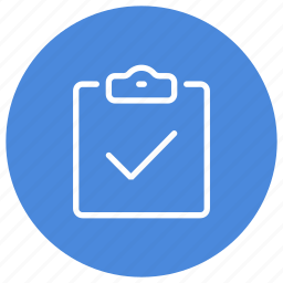 approved, checked, checklist, clipboard, done, task icon
