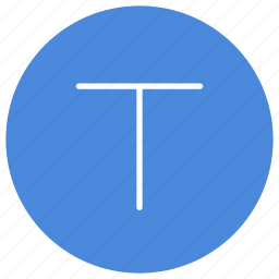 characteristics, letter, text icon
