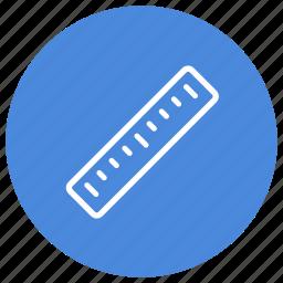 construction, design, graduations, measure, ruler, tool, work icon