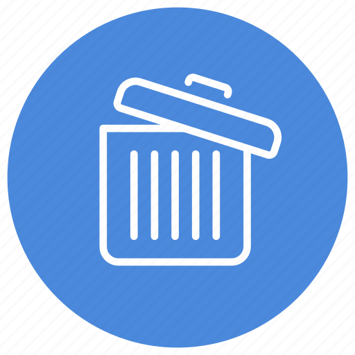 Bin, full, trash, delete, garbage, recycle, remove icon - Download on Iconfinder